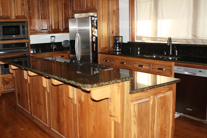 Indoor Kitchen Counter Tops Islands From New Construction Total Remodel Or Specific Update Projects Choctaw Stone Granite Is Your One Stop For All